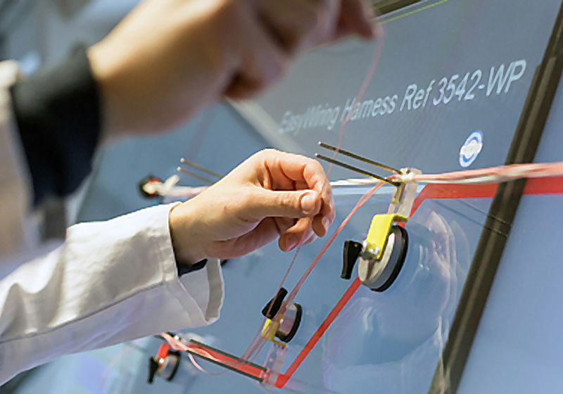Manufacturing the wiring harness: THONAUER GmbH on